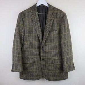 Brooks Brothers Harris Tweed Wool Sport Coat